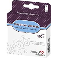 3L 0.5 x .25-inch Permanent Scrapbook Adhesives Mounting Squares preiswert