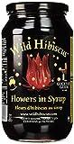 Wild Hibiscus Flower 50 Hibiskusblütenkelche in Sirup, 1er Pack (1 x 1.1 kg)