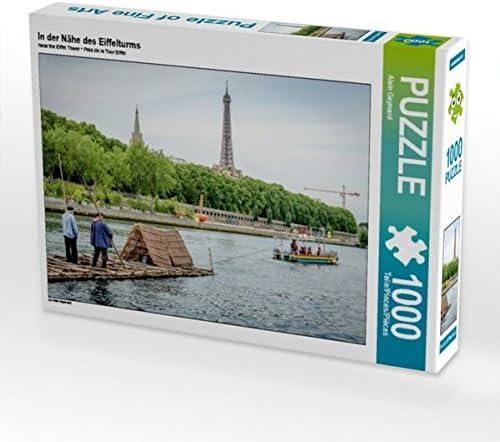 CALVENDO Puzzle in der Nähe des Eiffelturms 1000 Teile Lege-Grösse 64 x 48 cm Foto-Puzzle Bild Von Gaymard Alain | D'avoir à La Fois La Qualité De Ténacité Et De Dureté