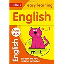 Collins Easy Learning Age 3-5 ??? English Ages 4-5: New Edition by Collins Easy Learning (2015-06-26)