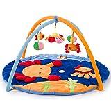 Hoptar Educational Baby Toys Climb Mat Crawling Baby Gym Blanket