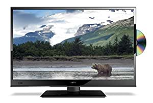 "16"" Ultra Slim LED Digital Freeview USB Record TV DVD. Caravan HGV Boat. 12 / 24 VOLT DC 12V + 240"