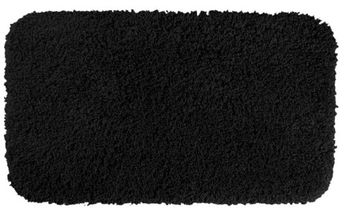 ndipity Shaggy, waschbar, Nylon Casual 30-Inch by 50-Inch schwarz ()