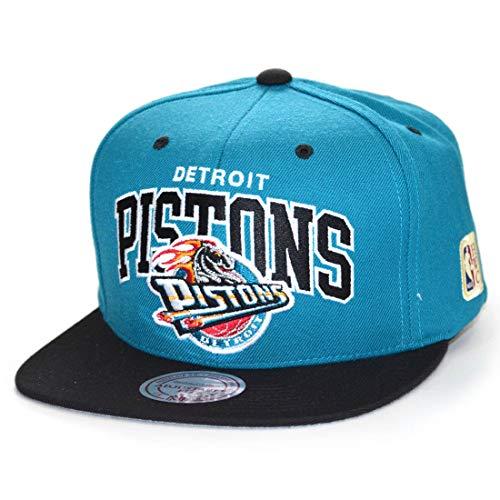 back Cap Team Arch HWC Detroit Pistons Teal/Black ()