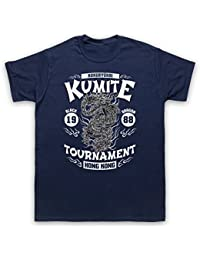Bloodsport Kumite 1988 Black Dragon Tournament T-Shirt des Hommes