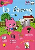 La ferme avec Léon le cochon 3-4 ans Petite Section