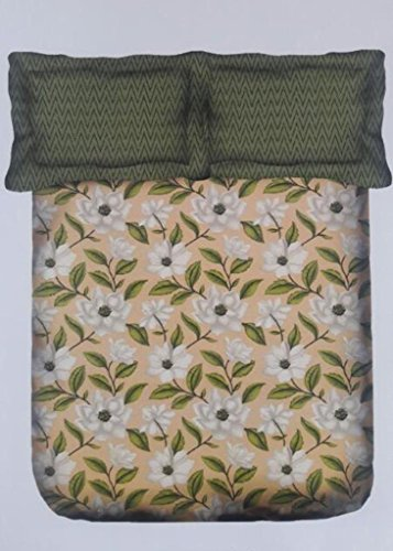 Portico New York Marvella Printed Cotton Multicolor Single Bedsheet With Pillow Cover  available at amazon for Rs.629