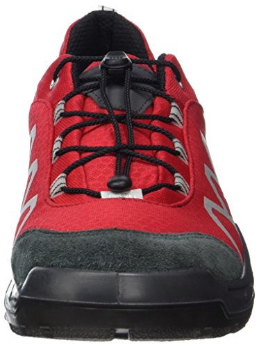 Ricosta Rick, Sneakers Basses Homme Rouge (Rot/grigio)