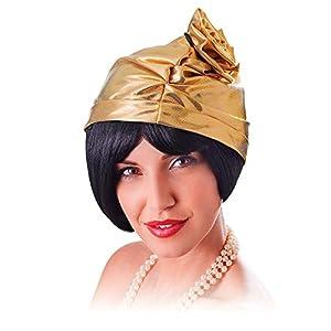Bristol Novelty BH620 Cloche - Gorro para mujer, talla única, color dorado