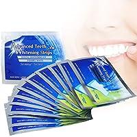Blanchiment des dents, iFanze 28 bandes blanchiment dentaire - Qualité professionnelle - Donne un coup d'éclat aux dents