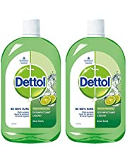 Dettol Disinfectant Cleaner for Home, Lime Fresh
