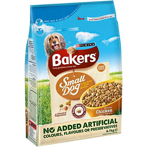 bakers-complete-small-dog-with-tasty-chicken-and-country-vegetables-27-kg-pack-of-4