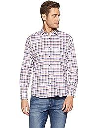 Van Heusen Sport Men's Plain Slim Fit Cotton Casual Shirt - B079L2PGK1