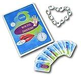 Verliebte Zahlen: Zahlzerlegung Lern-Spiele selber machen- Vorlage zum Ausschneiden & Spielen: Spielerisch rechnen lernen im Zahlenraum 10, Matheaufgaben Klasse 1, Dyskalkulie