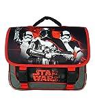 Bagtrotter Cartable Scolaire Disney Star Wars Noir Et Rouge