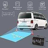 AUTO-VOX Caméra de Recul Sans Fil - Caméra de Voiture Numérique Caméra Etanche IP68 avec 4.3'' LCD Moniteur, Bonne Vision Nocturne, DC 12V/24V TD-2