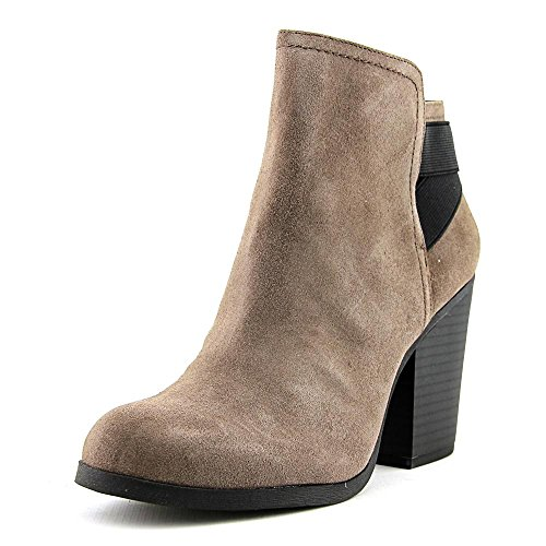 Kenneth Cole Reaction Womens Might Make It Bootie,Rock Microsuede,US 11 M