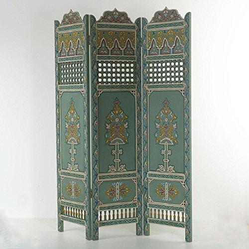 Casa Moro Paravent Orientalisch Raumteiler Trennwand Wand Holz Paravent Ourika