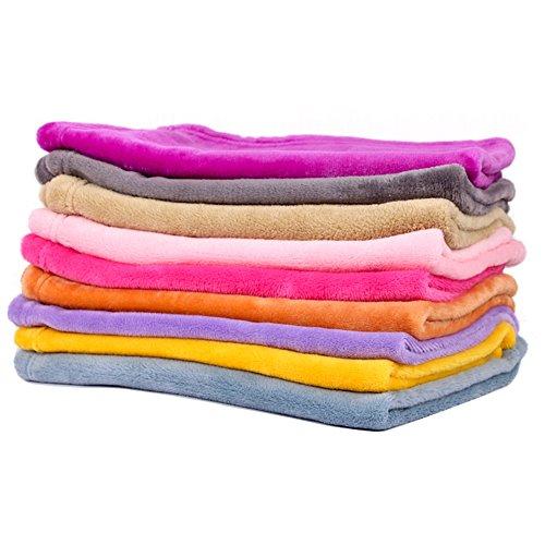 Ecloud Shop® Super weich und resistent gegen Schmutz Haustier Decke warmer Haustier Hund und Katze Pad S (zufällige Farbe)