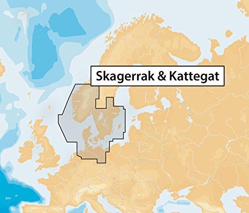 Navionics Seekarten (Navionics Plus 45XG Skagerrak & Kattegat Marine & Lake Charts on SD/MSD)