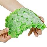 Goldge 37-Fach Eiswürfelform Silikon Mit Deckel Eiswürfelbehälter Eiswürfel Eiswürfelbox Eiswürfelfor