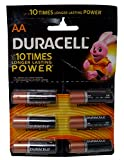 #4: Duracell Battery AA, 6-Pieces