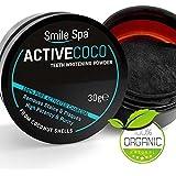 ActiveCoco charbon actif blanchiment des dents | poudre de charbon actif 30g | Active Coco | dentifrice au charbon actif (activated charcoal teeth whitening)