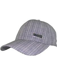 Lonsdale Herren Basecap Kappe Cap Mütze (Grau)