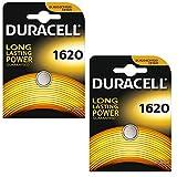 Duracell DL1620 2er-Pack Lithium Batterie (2X 1er-Blister)