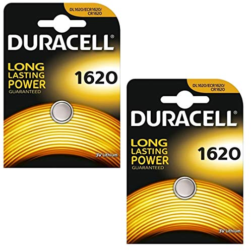 Duracell DL1620 2er-Pack Lithium Batterie (2X 1er-Blister)