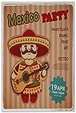 Azulejo Agencia Viajes Vacaciones Partido México Ceramica impreso 20x30 cm