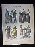 Zur Geschichte der Kostüme - Nr. 1119 - XIV. Jahrhundert. Engländer.