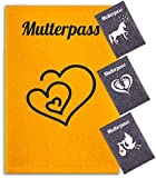 Minerva Luise - Mutterpass Hülle aus 100% Wollfilz für den deutschen Mutterpass - in Deutschland gefertigt