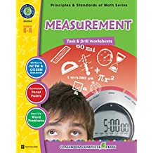 Measurement - Task & Drill Sheets Gr. 6-8 (English Edition)