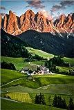 Poster 40 x 60 cm: Südtirol, Italien, Dolomiten von Sören