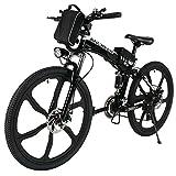 """26"""" Zoll 27 KM/H Folding Macht Mountainbike 36 V Einstellbarer Sattel Elektrofahrrad Pedelec Fahrrad mit Lithium-Ionen-Akku (Schnelle Ladezeit von 4-6 Stunden)"""