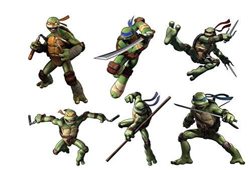Sticker Kinder Aufkleber-Schildkröte Ninja Ref 15136, 70x90cm