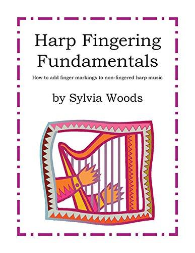 Woods Sylvia Harp Fingering Fundamentals Harp Book