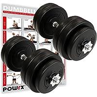 POWRX Mancuernas 30 kg set (2 x 15 kg)