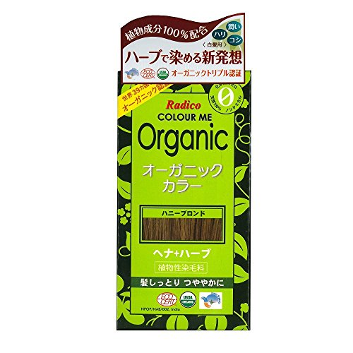 Radico Colour Me Organic Pflanzenhaarfarbe Honig-Blond (bio, vegan, Naturkosmetik) HonigBl -