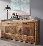 Main Möbel Sideboard 170cm Rio Sheesham massiv