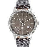 JETTE Time Damen-Armbanduhr REFLECTION Analog Quarz One Size, taupe, braun