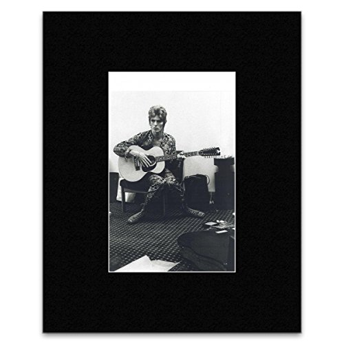 Stick It On Your Wall David Bowie - Backstage AT Birmingham Town Hall England 1972 Mini Poster - 45,5 x 35,5