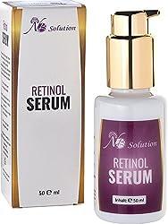 Retinol Serum mit Vitamin A - Hochdosiert 8% - Anti Aging Serum Für Gesicht Und Haut- 50 ml