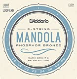 D\'Addario EJ72 Cordes pour Mandoline