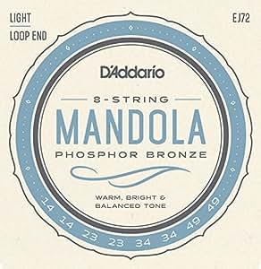 D'Addario EJ72 Cordes pour Mandoline: Amazon.fr ...