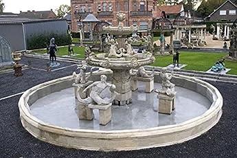 Pompidu Living Brunnen, Gartenbrunnen, Zierbrunnen, Fountain, Ø 1100