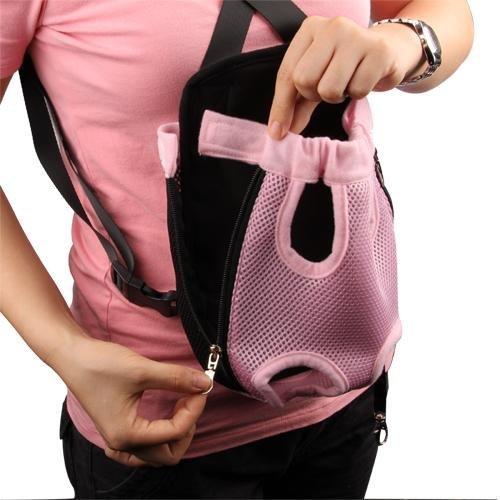 Imagen de hsy®  para perro delantera trasera espalda malla rosa nylon