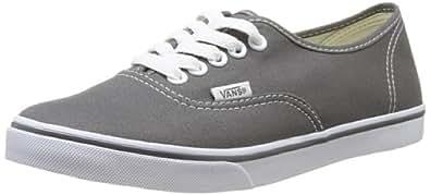 Vans AUTHENTIC LO PRO Unisex-Erwachsene Sneakers, Grau (Pewter/TruWhite 195), 35 EU