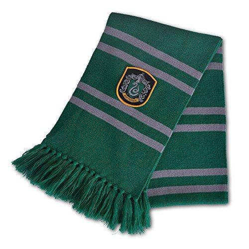 Preisvergleich Produktbild Harry Potter Slytherin Schal 170cm Elbenwald grau grün